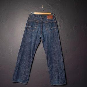 Hugo Boss Regular Fit Button Fly Jeans